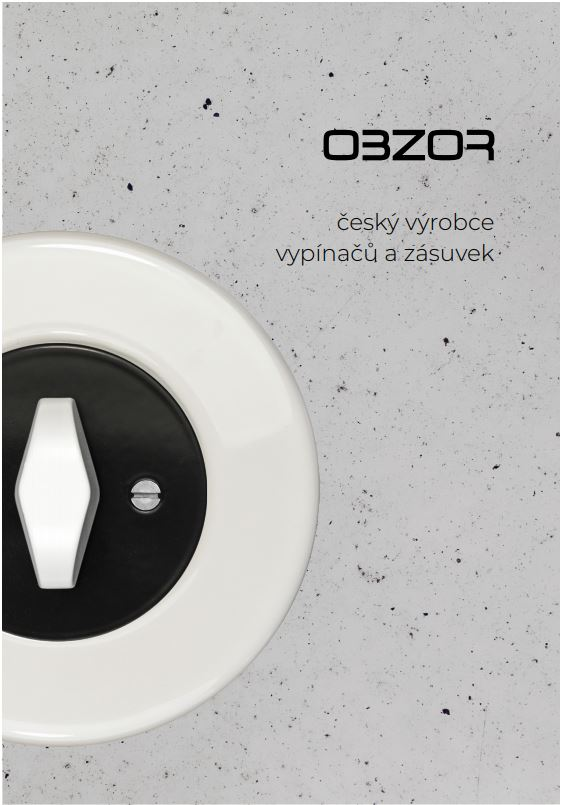 Lookbook Switches and outlets OBZOR 2020