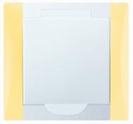 Vysavačová zásuvka _ ELEGANT barevná