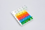 Pill organizer type 04 (weekly)