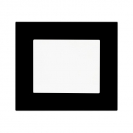 Komplet DECENTE plexi - vypínač řaz. 6 schodišťový vypínač