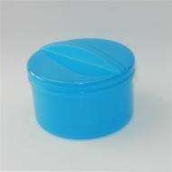 Krabička na protézy a rovnátka (modrá/modrá)