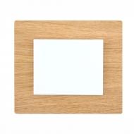 Komplet DECENTE dřevo - vypínač řazení 1 jednopólový