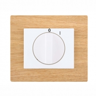 Set DECENTE wood - insert for a cooker switch, rotary