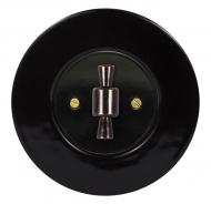 Set RETRO ceramic/black - switch arragement 6