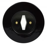 Set RETRO ceramic/black - switch arragement 2