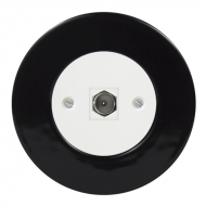 Komplet RETRO keramika černá - TV