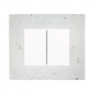 Komplet DECENTE beton - vypínač řazení 1/0+1/0