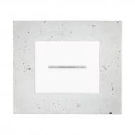 Komplet DECENTE beton - vypínač řazení 1/0 s prosvětlením