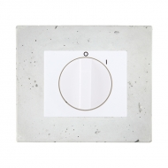 Set DECENTE concrete - insert for a cooker switch, rotary