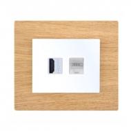 Komplet DECENTE dřevo - zásuvka HDMI, PC