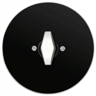 Set RETRO glass - insert switch, arrangement 1/0