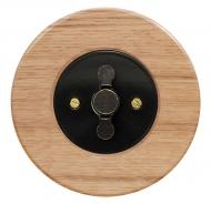 Komplet RETRO dřevo dub světlý - žaluziový ovladač