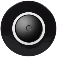 Set RETRO ceramic black - LED dimmer with arrangement 6