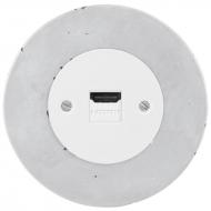 Komplet RETRO beton - zásuvka HDMI