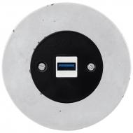 Komplet RETRO beton - zásuvka USB