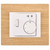 Set DECENTE wood - ROOM thermostat RTR-E 8011-50 analogue