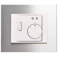 Set DECENTE metal - ROOM thermostat RTR-E 8011-50 analogue