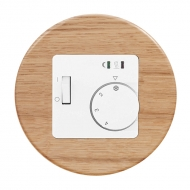Set RETRO wood - ROOM thermostat RTR-E 8011-50 analogue