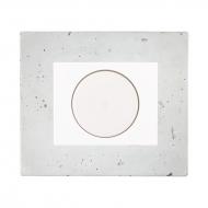 LED stmívač otočný push-pull, kompletní, DECENTE beton