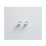 Přepínač sériový páčkový, řaz. 5, kompletní, VECTIS HLINÍK bílý
