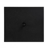 Tlačítko (ovladač), řazení 1/0, kompletní, VECTIS HLINÍK černý
